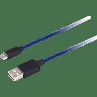 ISY IC-300 PS4 Flechtkabel Ladekabel, Blau