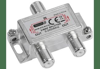 VIVANCO SAT-/Universal-Antennenverteiler, 2-fach