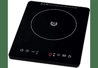 Placa de inducción portátil - Cecotec 8001, Inducción, 2000 W, Full Crystal