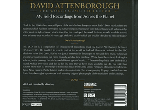 David Attenborough - My Field Recordings From Across The  - (CD)