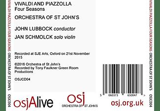 Jan Schmolck, Orchestra of St John´S, John Lubbock - Four Seasons  - (CD)