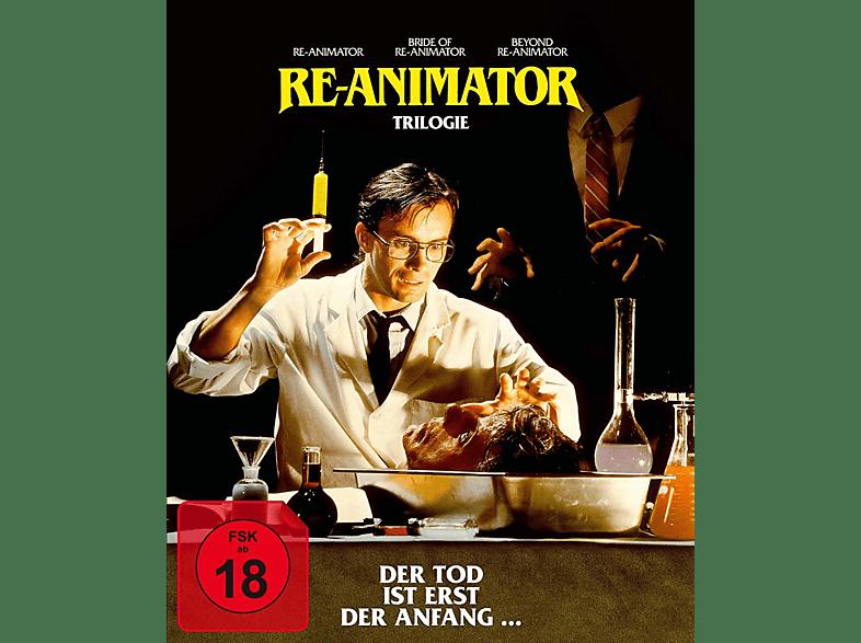Re-Animator 1-3 (3-Disc Digipak) [Blu-ray]