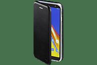 HAMA Curve , Bookcover, Samsung, Galaxy J4+, Polyurethan (PU)/Thermoplastisches Polyurethan (TPU), Schwarz