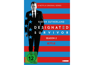 DESIGNATED SURVIVOR 2.SEASON - (DVD)