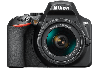 NIKON D3500 + 18-55MM - Appareil photo reflex (Résolution photo effective: 24.2 MP) Noir
