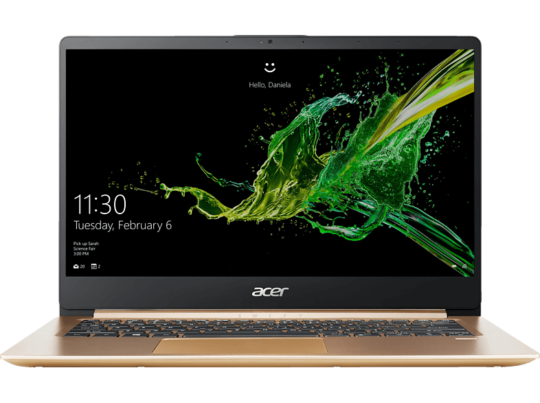 ACER Swift 1 (SF114-32-P9Y2), Notebook mit 14 Zoll Display, Pentium® Silver Prozessor, 4 GB RAM, 256 GB SSD, Intel® UHD-Grafik 605, Luxury Gold