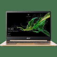 ACER Swift 1 (SF114-32-P9Y2), Notebook mit 14 Zoll Display, Pentium® Silver Prozessor, 4 GB RAM, 256 GB SSD, Intel® UHD-Grafik 605, Luxury Gold