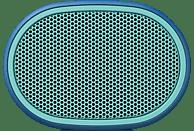 SONY SRS-XB01 Bluetooth Lautsprecher, Blau, Wasserfest