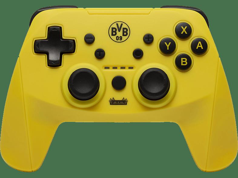 SNAKEBYTE Snakebyte BVB- Pro Controller für Nintendo Switch Controller, BVB 09 Design