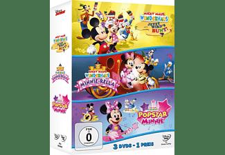 Micky Maus Wunderhaus - Jetzt wird's bunt/Minnie-Rella/Popstar Minnie DVD