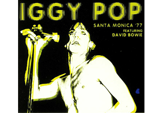 Iggy Pop - Santa Monica '77 Feat. David Bowie (Black Vinyl) - (Vinyl)