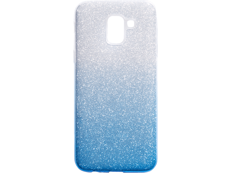 V-DESIGN VSP 078 , Backcover, Samsung, Galaxy J6, Plastik + Thermoplastisches Polyurethan, Blau