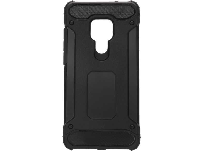 V-DESIGN VDR 081 , Backcover, Huawei, Mate 20, Plastik/Thermoplastisches Polyurethan, Schwarz