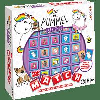 WINNING MOVES MATCH Pummeleinhorn Gesellschaftsspiel, Mehrfarbig