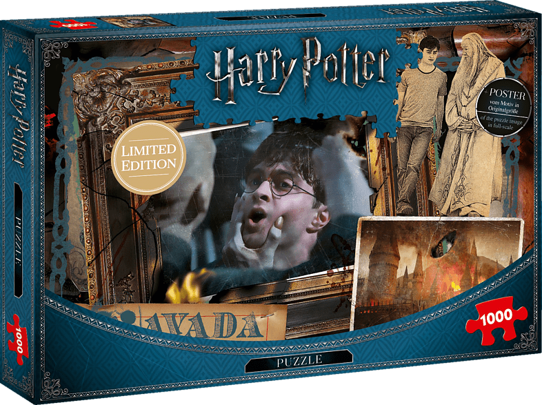 WINNING MOVES Harry Potter Puzzle, Mehrfarbig