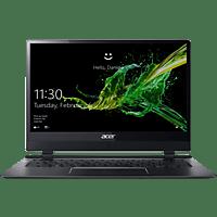 ACER Swift 7 (SF714-51T-M2FT), Notebook mit 14 Zoll Display, Core™ i7 Prozessor, 8 GB RAM, 256 GB SSD, Intel® HD-Grafik 615, Schwarz