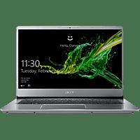 ACER Swift 3 (SF314-54-55W7), Notebook mit 14 Zoll Display, Core™ i5 Prozessor, 8 GB RAM, 256 GB SSD, Intel® UHD-Grafik 620, Silber