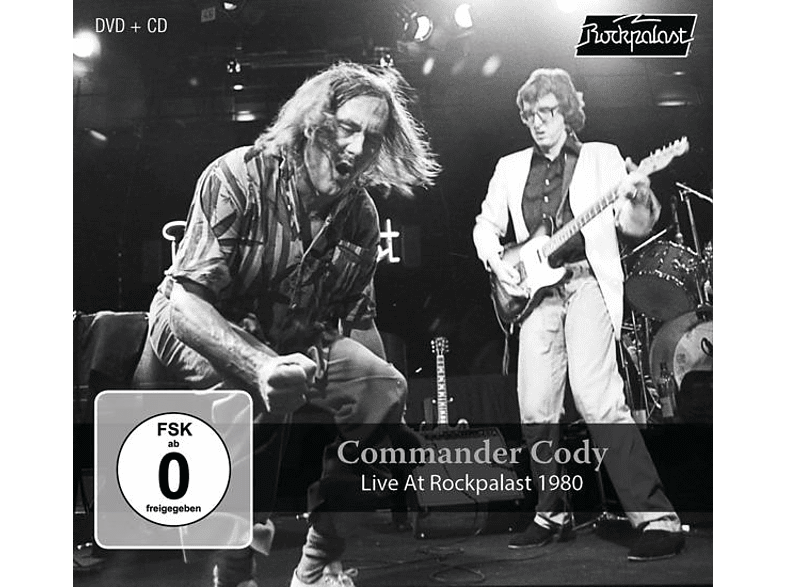 Commander Cody and His Lost Planet Airmen - Live At Rockpalast 1980 [CD]