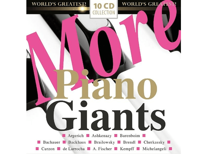 VARIOUS - More Piano Giants [CD]