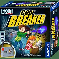 KOSMOS EXIT Kids - Code Breaker, Kinderspiel mit elektronischem Schloss Gesellschaftsspiel, Mehrfarbig