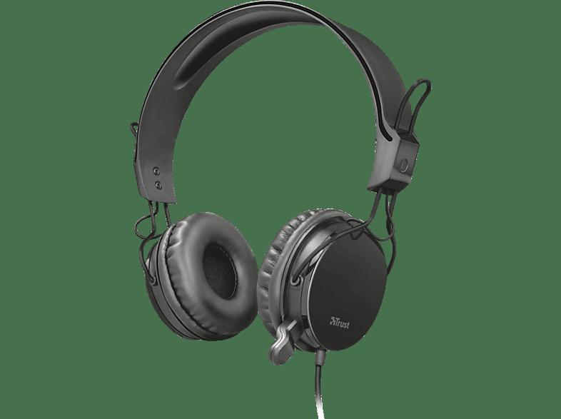 TRUST Muro Allround Headset Schwarz