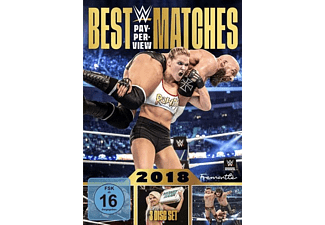 WWE:Best PPV Matches 2018 - (DVD)