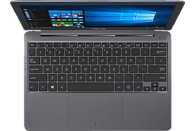ASUS VivoBook (E203MA-FD948TS), Notebook mit 11.6 Zoll Display, Celeron® Prozessor, 4 GB RAM, 64 GB eMMC, Intel UHD-Grafik 600, Star Grey