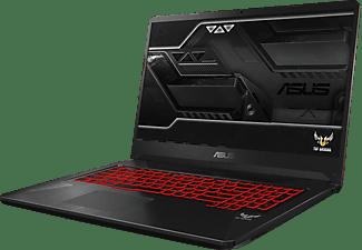 ASUS FX505DY-BQ052, Notebook mit 15,6 Zoll Display, Ryzen™ 5 Prozessor, 8 GB RAM, 512 GB SSD, Radeon™ RX 560X, Schwarz