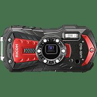RICOH WG-60 Digitalkamera rot, 5-fach opt. Zoom