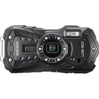 RICOH WG-60 Outdoor, Unterwasser schwarz, 16 Megapixel, 5-fach opt. Zoom, LCD