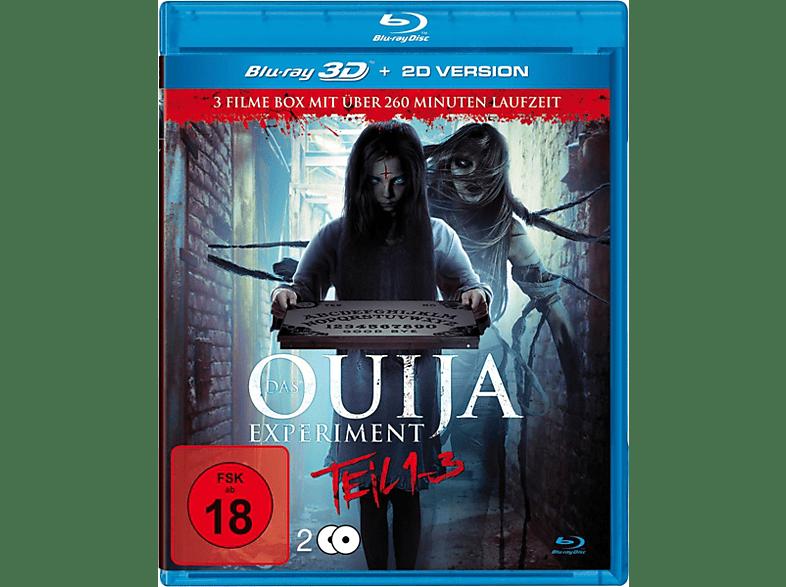 Das Ouija Experiment Teil 1-3 (Real 3d) [Blu-ray]