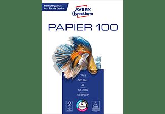 AVERY ZWECKFORM Drucker- und Kopierpapier, DIN A4, hochweiß, unbeschichtet, 100 g/m² (2566)