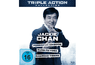 Jackie Chan Triple Action Collection - (Blu-ray)