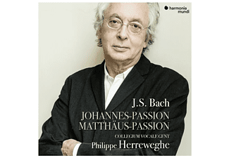 Collegium Vocale Gent Philippe Herr - Johannes-Passion/Matthäus-Passion CD