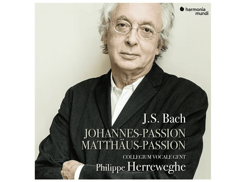 Collegium Vocale Gent Philippe Herr - Johannes-Passion/Matthäus-Passion [CD]