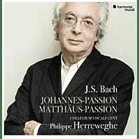 Collegium Vocale Gent Philippe Herr - Johannes-Passion/Matthäus-Passion [CD]