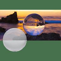 ROLLEI Lensball 90mm, Vollglaskugel, Transparent, passend für Fotografie