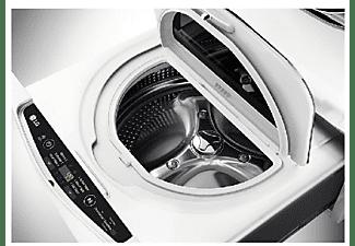 Mini Lavadora - LG F70E1DN0, 3.5 Kg, 700rpm, 9 Funciones, Display LED Táctil, Blanco