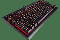 CORSAIR K63, Gaming Tastatur, Mechanisch, Cherry MX Red