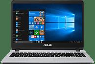 ASUS R507 (R507UF-EJ245T), Notebook mit 15.6 Zoll Display, Core™ i5 Prozessor, 8 GB RAM, 256 GB SSD, 1 TB HDD, GeForce® MX130, Star Grey