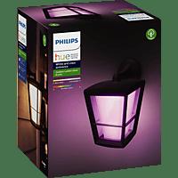 PHILIPS Hue White & Color Amb. Econic LED Wandleuchte Außenbeleuchtung, Schwarz