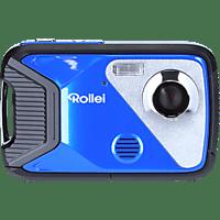 ROLLEI Sportsline 60 Plus Digitalkamera Blau, Farb-TFT-LCD