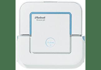 Robot friegasuelos - iRobot Braava jet 240, pulverizador de chorro a presión, friega y pasa la mopa
