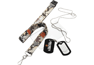 EXQUISITE GAMING Call of Duty: Black Ops 4 Schlüsselband & Dog Tag Schlüsselband, Mehrfarbig/Camo