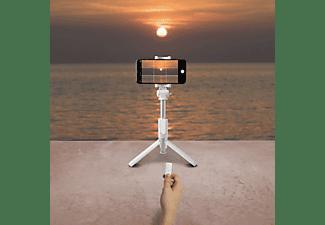 CELLY BT Selfie Stick + Stativ Weiß