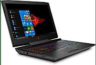 HP OMEN 17-an174ng, Notebook mit 17.3 Zoll Display, Core™ i5 Prozessor, 16 GB RAM, 1 TB HDD, 256 GB SSD, GeForce® GTX 1060, Schwarz