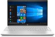 HP Pavilion 15-cs2305ng, Notebook mit 15.6 Zoll Display, Core™ i7 Prozessor, 16 GB RAM, 512 GB SSD, GeForce® GTX 1050, Silber