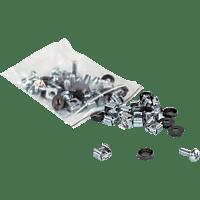 """INTELLINET 711081 Schraubensatz zur Montage von 19"""" Komponenten"""