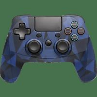 SNAKEBYTE Gamepad 4 S Wireless Controller, Camo Blau