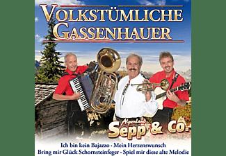 Alpenland Sepp & Co. - Volkstümliche Gassenhauer  - (CD)